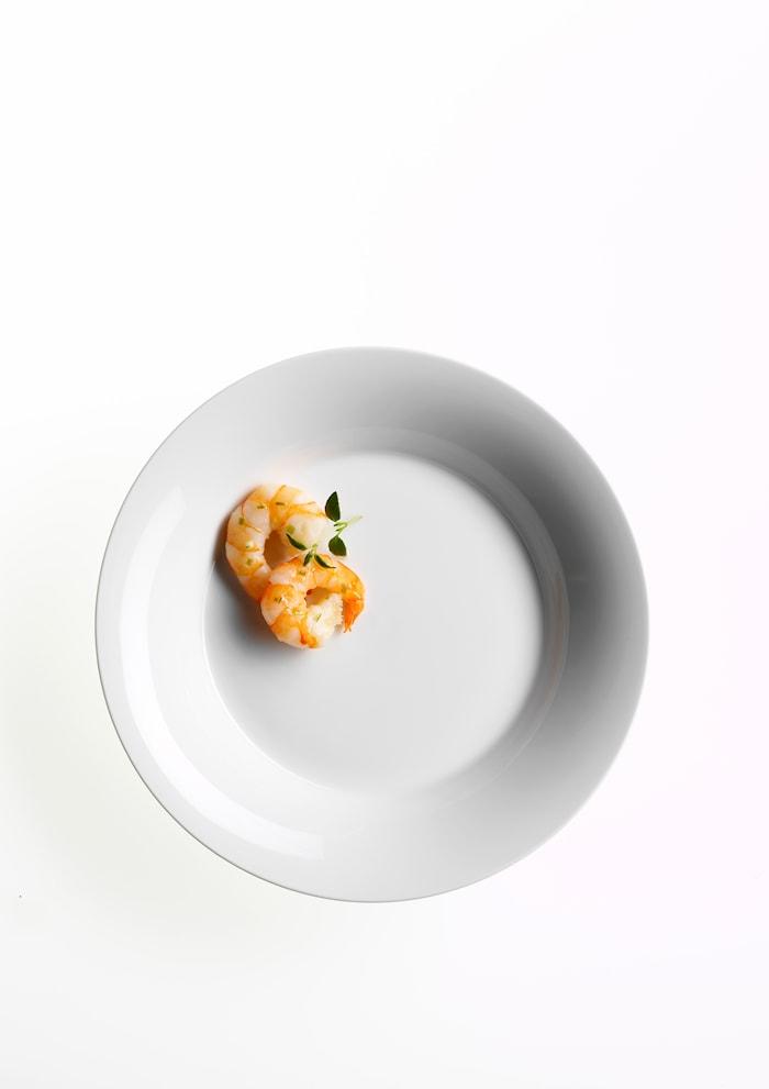 Odgaard syvä lautanen 22 cm 4-pack