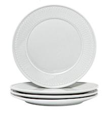 Fålhagen Assietter, 4-pak, 22,5 cm, Lysegrå