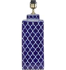 Li Wei Lampfot Koboltblå 51cm