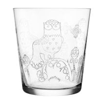 Taika Glass 38 cl klar 2-pakk