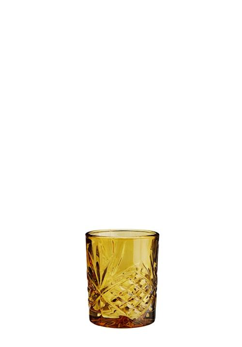 Dricksglas Ø 8 cm - Bärnsten
