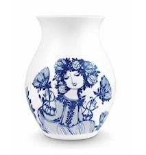 Vase, Amelia, blå, H 21 cm