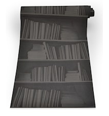 Bookshelf black tapet