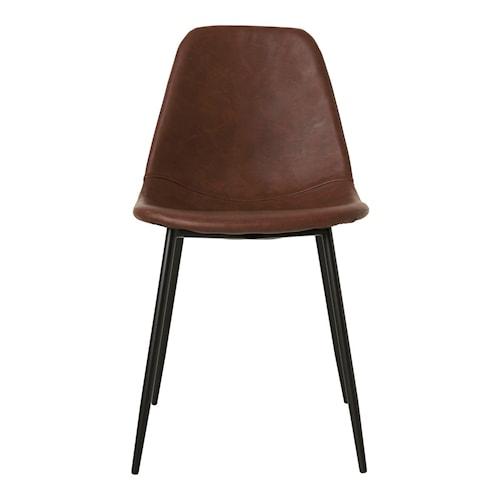 Stol Forms 43x83,5 cm - Svart
