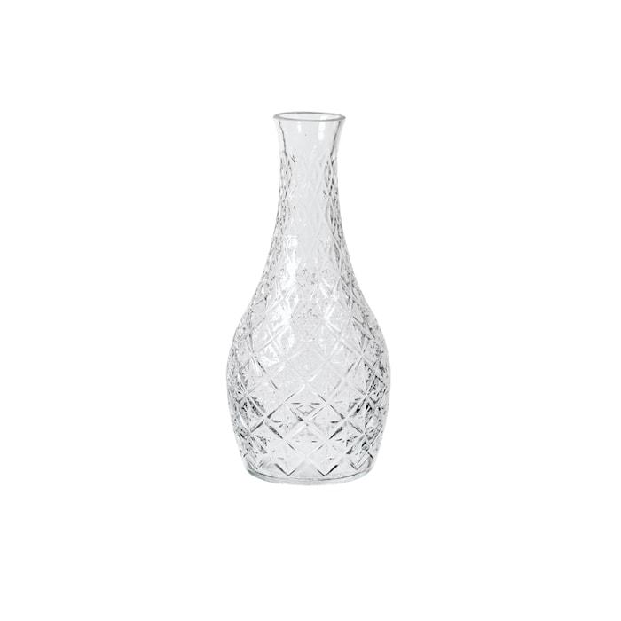 Vase Curve Klar Glas Ø 13 x H 29 cm