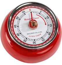 Timer Röd 7,5 cm