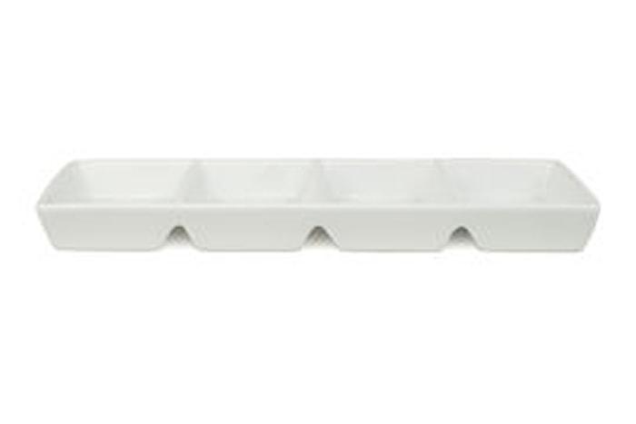 Fat rektangulär 29x12cm 4-pack