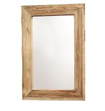 Aino Speil S Resirkulert teak 60x90 cm