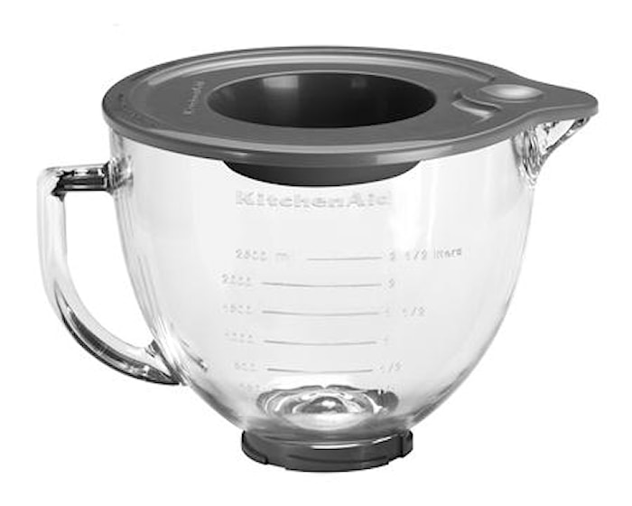 Artisan glasskål till KitchenAid 4,8L