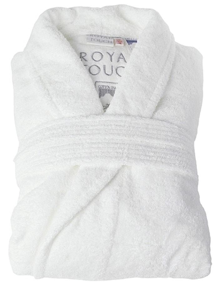 Morgonrock Royal Touch White M