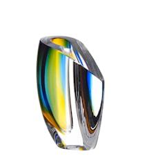 Mirage Blå/Bärnsten Vas 15,5 cm