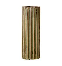 Vase Stone Green Ø5x15 cm