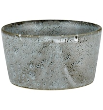 Ramekin Ø9 H4,5 grå stein Bitz