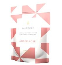 Tuoksukynttilä refill - Amber Rose 300g