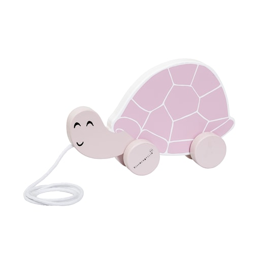Dragleksak Sköldpadda - Rosa