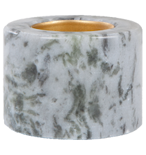 Varmeslysholder Blå marmor 5,5 cm Ø 7 cm