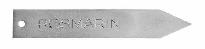 Urtemarkør Rosmarin, rustfri stål