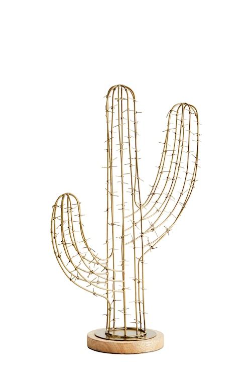 Deko Kaktus - Mässing