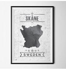 Skåne län poster