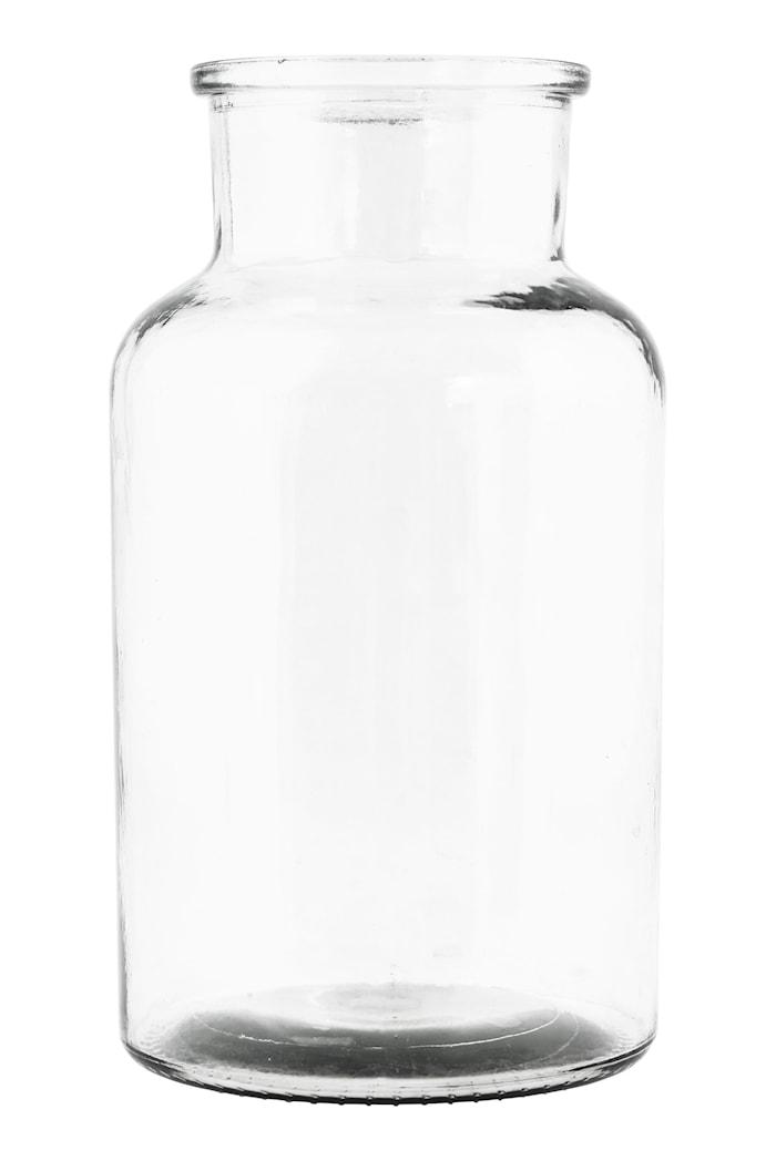Vase Jar Ø 14x26 cm - Klar