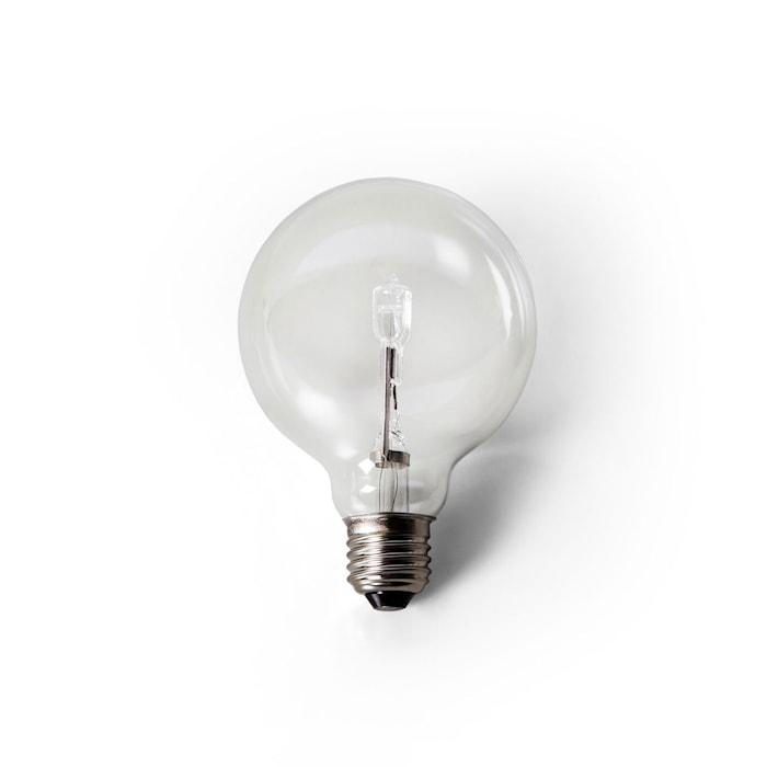 Globe Glödlampa Opal 90mm 60W E27 Clear