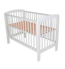 Lux seng 60x120 hvid