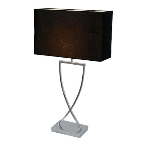 Omega Bordslampa 69 cm - Svart