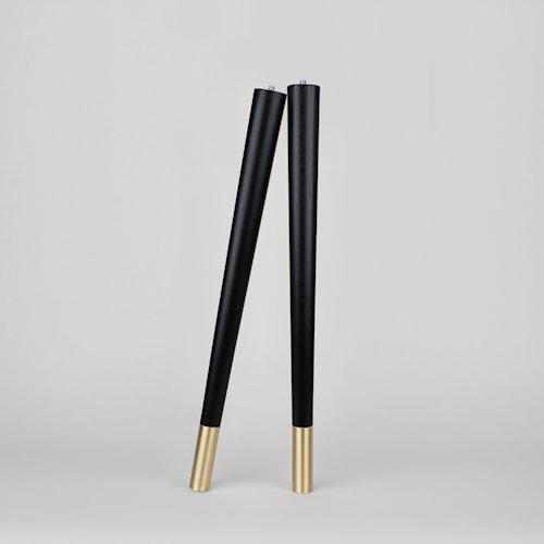 Estelle coffe table legs möbelben – Black