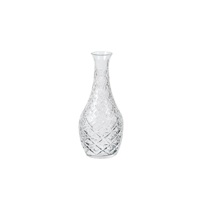 Vase Curve Klar Glas Ø 10 x H 25 cm