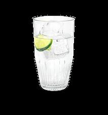 RO Vandglas 38 cl klar 4 stk.