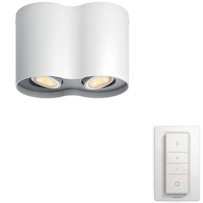 Hue Pillar White Ambiance Double