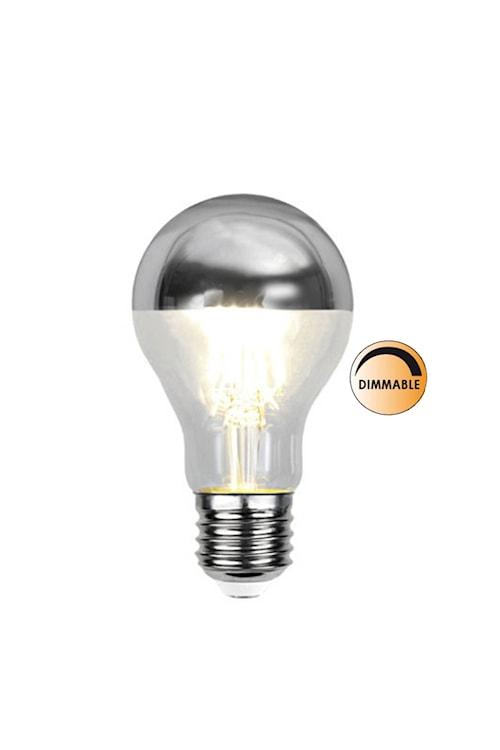 Ljuskälla LED 352-94 Toppförspeglad Silver Dimbar E27