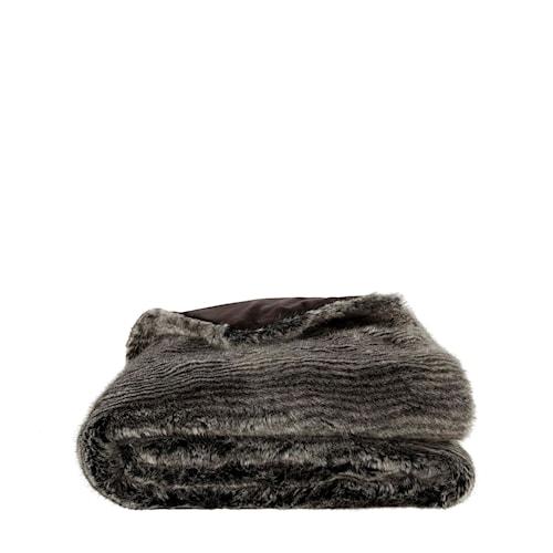 Leia Stripe Grey Pläd 127x150