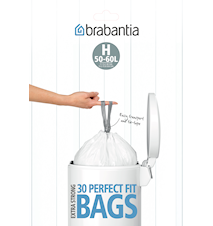 Rubbish bags [10 bags] Plastic