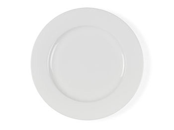 Tallerken 27cm hvid porcelæn