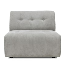 Corduroy rib, Vint Sofa Element B Cream