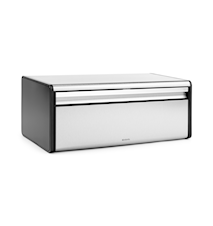 Bread bin with black sides Steel