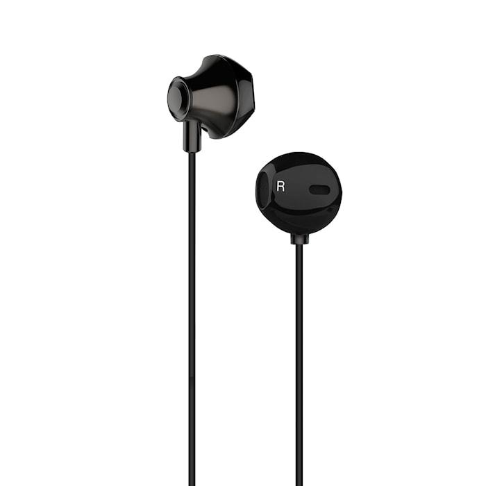 Kuulokkeet EarPod Musta Metallic
