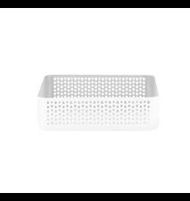 Nic Nac Opbevaring Hvid 22,5x22,5x6 cm