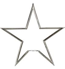 Tindra Stjärna Matt Krom 35cm