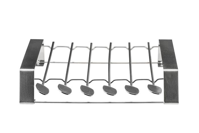 Grillspyd af stål. Rotisserie