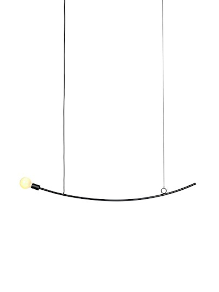 Accent lampe - curved
