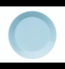 Teema tallrik 17 cm ljusblå