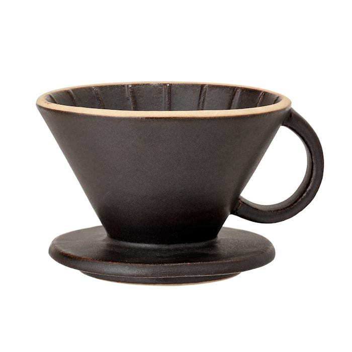 Leah Kaffefilter Stengods Svart