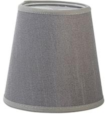 Queen Lampskärm Silke Ljusgrå 12 cm