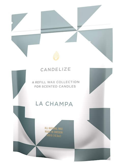 Doftljus refill - La Champa 300g