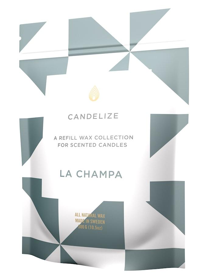 Doftljus refill La Champa 300g