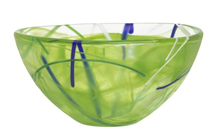 Contrast Lime Skål Ø 16 cm