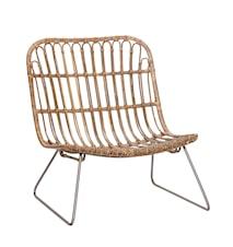 Lounge chair korgstol