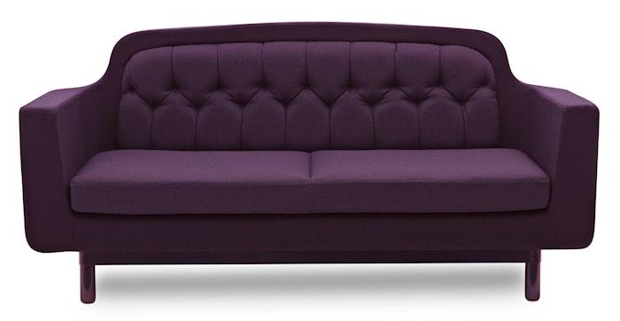 Onkel sofa 2-sits lila